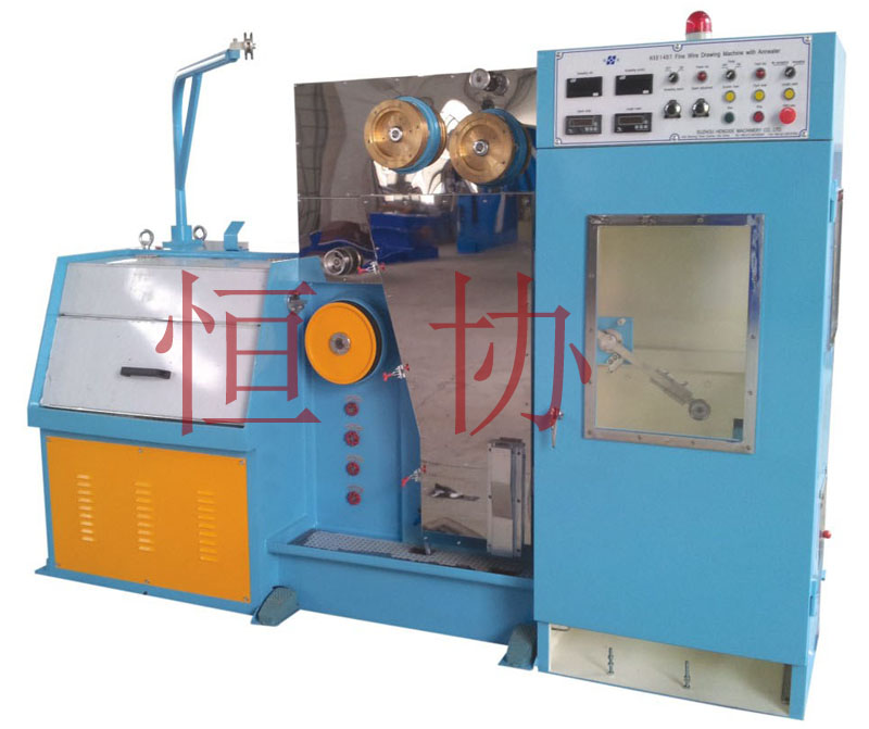 Fine wire drawing machine with annealer-SUZHOU HENGXIE MACHINERY CO ...